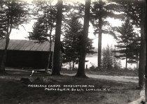 Image of Woodland Camps, Oswegatchie Inn. - Print, gelatin silver