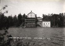 Image of Star Lake Inn, from the Lake, Star Lake, N.Y. No.12. - Print, gelatin silver