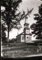 Image of Presbyterian Church  Chazy N.Y. - Print, gelatin silver