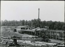 Image of The Emporium Lumber Co.'s Mill at Conifer, N.Y. - Print, Gelatin Silver