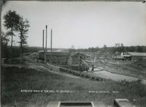 Image of Birds Eye View of the Mill at Conifer, N.Y. No.23. - Print, Gelatin Silver