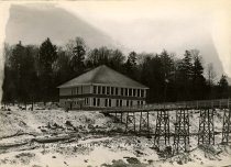 Image of The New School House at Conifer, N.Y. - Print, Gelatin Silver