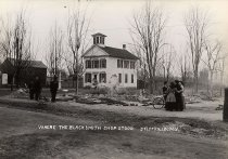 Image of Where the Blacksmith Shop Stood, Stittville, N.Y. - Print, contact