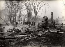 Image of Among the Ruins, Stittville, N.Y. - photo - mounted; contact print
