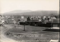 Image of Thendara, N.Y. From the Hill. - photo - mounted; contact print