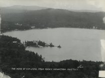Image of The Head of 4th Lake, from Rocky Mountain, Inlet, N.Y. - Print, gelatin silver