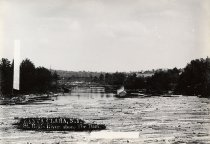 Image of Santa Clara, N.Y. St. Regis River, above The Dam. - photo - mounted; contact print