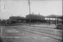 Image of D.L. & W. Depot, Oswego, N.Y. #49. - Print, contact