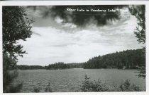 Image of Silver Lake in Cranberry Lake Village - Print, Real Photo Postcard