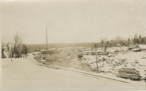 Image of Emporium Lumber Co. Mills. Conifer, NY - Print, Real Photo Postcard