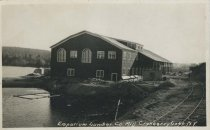 Image of Emporium Lumber Co. Mill. Cranberry Lake, NY - Print, Real Photo Postcard