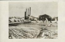 Image of Emporium Forestry Co. Mill Cranberry Lake - Print, Real Photo Postcard