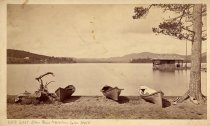 Image of 688. West from Blue Mountain Lake House. - Print, Albumen