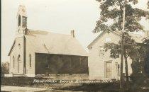 Image of Presbyterian Church  Beekmantown, N.Y. 6. - Print, Real Photo Postcard