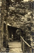 Image of 25. Pine Cottage, Higby's, Big Moose, N.Y. - Print, gelatin silver