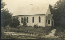 Image of Catholic Church, Big Moose, N.Y. 27. - Print, Real Photo Postcard