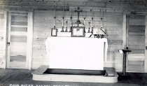 Image of Main Alter[sic], Chapel, Camp St. Mary, Long Lake, N.Y. 32. - Print, gelatin silver