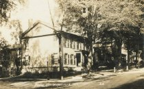 Image of Main St.  Keeseville, N.Y. 20. - Print, Real Photo Postcard