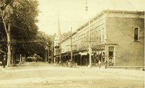 Image of Main St.  Keeseville, N.Y. 22. - Print, Real Photo Postcard