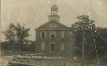 Image of Old Keeseville Academy  Keeseville N.Y.  38. - Print, Real Photo Postcard