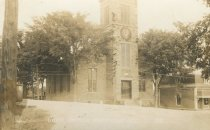 Image of [Cong] Church  Keeseville N.Y.  39. - Print, Real Photo Postcard