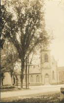 Image of M.E. Church  Keeseville N.Y.  41. - Print, Real Photo Postcard