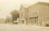Image of Front St.  Keeseville N.Y.  43. - Print, Real Photo Postcard