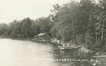 Image of North View, Long Pond, Keeseville N.Y. 472. - Print, Real Photo Postcard