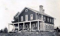 Image of Main Bldg.  Camp St. Mary, Long Lake, N.Y. 27. - Print, Real Photo Postcard