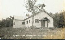 "Image of ""Chapel"", Camp St. Mary, Long Lake, N.Y. 31. - Print, Real Photo Postcard"