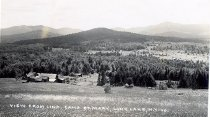 Image of View from Line, Camp St. Mary, Long Lake N.Y. 40. - Print, Real Photo Postcard