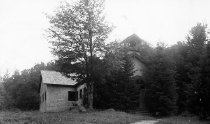 Image of The Chapel, Camp St. Mary, Long Lake, N.Y. 1319. - Print, Real Photo Postcard