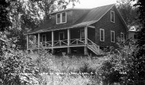 Image of Reilly's Rest, Camp St. Mary, Long Lake, N.Y. 1320. - Print, Real Photo Postcard
