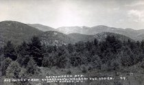 Image of Adirondack Mts.;Big Range from Robertson's-Wonder-Vue Lodge, North Hudson, N.Y. 29. - Print, Real Photo Postcard