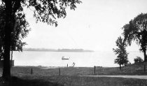 Image of Swimming Beach, Camp Crown Point, Crown Point, N.Y. 20. - Print, Real Photo Postcard