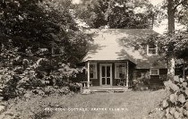 Image of Red Rock Cottage, Crater Club, N.Y. 708. - Print, Real Photo Postcard