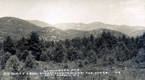 Image of Adirondack Mts.;Big Range from Robertson's-Wonder-Vue-Lodge, North Hudson, N.Y. 49. - Print, Real Photo Postcard