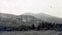Image of View from Grey Goose Camp, North Hudson, N.Y. 55. - Print, Real Photo Postcard