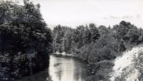 Image of Schroon River, North Hudson, N.Y. 57. - Print, Real Photo Postcard