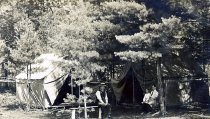 Image of Grey Goose Camp, North Hudson, N.Y. 58. - Print, Real Photo Postcard