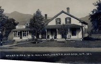 Image of Store & Res. W.H. Walker, North Hudson, N.Y. 151. - Print, Real Photo Postcard