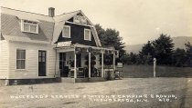 Image of Whitford's Service Station & Camping Ground, Ticonderoga, N.Y. 470. - Print, Real Photo Postcard