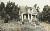 """Image of """"Frank's House,"""" Camp St. Mary, Long Lake, N.Y. 30. - Print, Real Photo Postcard"""