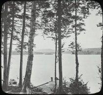Image of Raquette Lake - Transparency, Lantern-slide