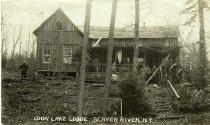 Image of Loon Lake Lodge - Beaver River, N.Y. - Print, gelatin silver