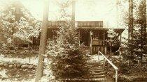 Image of Loon Lake Camp near Beaver River, N.Y. - Print, gelatin silver