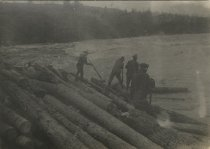 Image of Log Jam - Print, Photographic