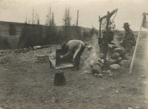 Image of Camp Cooking - Print, Photographic