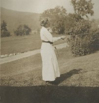 Image of Woman with Kite - Print, Photographic