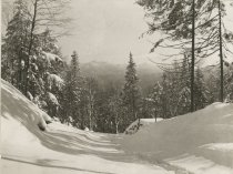 Image of Between Mt. Steward and Mt. Seymour - Print, Photographic